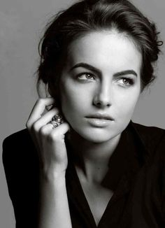 Camilla Belle b&w portrait Camilla Belle, Portrait Poses, Female Portrait, Most Beautiful Women, Beautiful People, You're Beautiful, Brunette To Blonde, Black And White Portraits, Grunge Hair