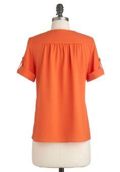 Hooray of Sunshine Top | Mod Retro Vintage Short Sleeve Shirts | ModCloth.com