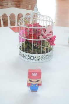 Centre de table pour Ombeline & Kevin  By Quand Nathalie Rêve Flowers