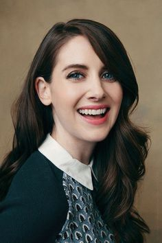 Alison Brie - Sundance Film Festival 2015 The Hollywood Reporter Portrait > just dyed my hair brown, hopefully it will look something like this when I grow it out Alison Brie, Prettiest Actresses, Beautiful Actresses, Alexandra Daddario, Beautiful People, Beautiful Women, The Hollywood Reporter, Girl Crushes, Woman Crush