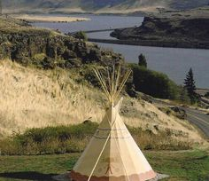 18-ft Tipi in Oregon