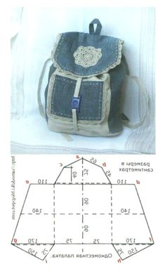 mini sac a dos- aude laure - Auto Modelle This post was discovered by Pe mini sac a dos Idea backpack for recycling jeans. 5 Fantastic Bags Made with Recycled Jeans – Free Guides Recycling jeans for a bag Jean bag Great idea to make a jean handbag. Blue Jean Purses, White Purses, Denim Backpack, Backpack Bags, Denim Handbags, Coach Handbags, Denim Crafts, Bags 2017, Recycled Denim