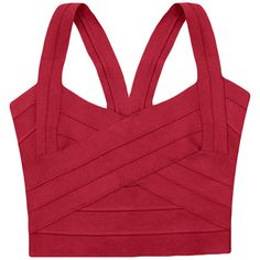 Red Bandage Zipper Sexy Ladies Crop Top (22 CAD) ❤ liked on Polyvore featuring tops, shirts, crop tops, red, tanks, shirt crop top, bandage top, bandage crop tops, zip crop top and zipper crop top