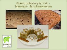 Piskóta zabpehelylisztből French Toast, Paleo, Minden, Slug, Breakfast, Recipes, Food, Meal, Rezepte