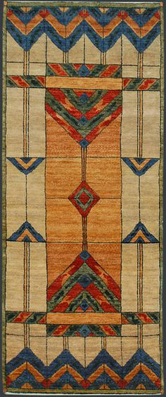 arts+and+crafts+rugs | Indian Arts and Crafts Oriental Rug #38087