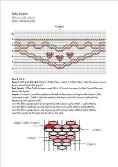 Baby Hearts Smocking Design – Creations by Michie @ DIY Home Cuteness