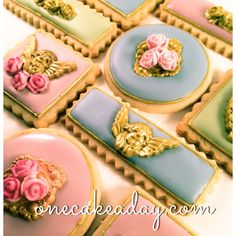 Romantic Cookies - My cookies inspired in parisian colors and style