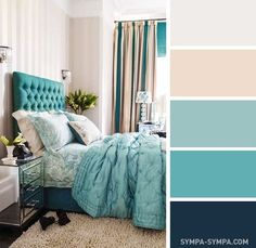 Bedroom color schemes turquoise room decorations colors of nature aqua first apartment bedroom colors bedroom bedroom . Best Bedroom Colors, Bedroom Color Schemes, Bedroom Paint Colors, Paint Schemes, Colour Schemes, Paint Colours, Home Decor Bedroom, Modern Bedroom, Living Room Decor