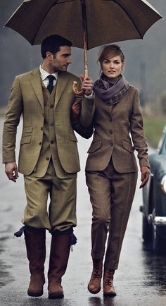 Great example of modern Tweed, come on Tweed lets get you at the top of the fashion world again!