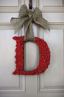 A Taylor Made Home: Favorite Five Friday: DIY Christmas Decor @aholman for craft night?