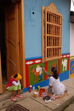 Guatapé, Antioquia Colombia South America, Street Portrait, Our Town, Beautiful Places To Visit, Beautiful Landscapes, Ecuador, Trays, Projects To Try, The Incredibles