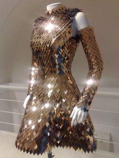 fashion dress armor Gareth Pugh Scale Mail