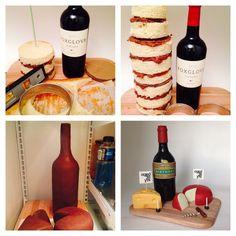 standing wine bottle with ganache - Google-søk