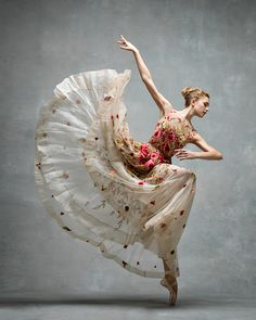 "kafkasapartment: "" Miriam Miller, New York City Ballet, by Ken Browar and Deborah Ory """