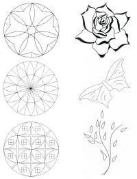 chip carving patterns - Google Search
