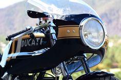 Ducati 750 GT Custom - Fairing