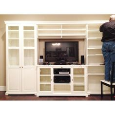 Besta Wall Unit Hack | Ikea hackers, Walls and Living rooms