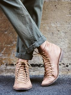 Free People Truxton Lace Up Boot, $198.00