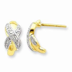 Look flashy but still sophisticated with this Sterling Silver Vermeil Diamond Post Earrings - $33.00. Use code INSTALOVE for 10% discount from IceCarats.com!  #icecarats #jewelry #fashion #accessories #jewelryjunky #latestfashion #trending #fashiontrends #affordablefashion #lookbook #fashionbloggers #bloggerstyle #bestseller #instaglam #instastyle #wiw #jewelrylover #ootd #streetstyle #jewelrylover #jewelrytrends #dailyinspo #model #romantic #fashionkilla #fashionstory #hollywood #classy