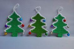 Decorazioni natalizie uncinetto: 5 schemi semplici per te - Donnaclick