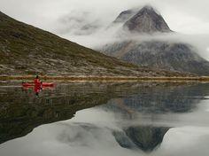 Kayaking, Greenland