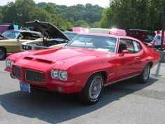 The 1971 Pontiac GTO - Pontiac Muscle Cars
