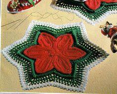 Delicadezas en crochet Gabriela: Bellisimas carpetitas para dar un toque de distinción en el hogar en las próximas navidades varios modelos