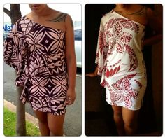 "Polynesian fashion by New ""PELE"" dresses from MASINA IMPORTS"