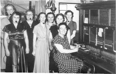 Switch board operators (before cell phones)