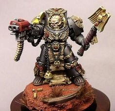 Imperial Fist Chaplain Terminator