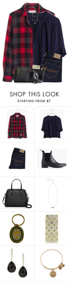 """""""I'm so extremely sad, mad, and scared"""" by teamboby ❤ liked on Polyvore featuring Madewell, Abercrombie & Fitch, J.Crew, Kate Spade, Kendra Scott, Alex and Ani, LoveTrumpsHate, NotMyPresident and Imstillwithher"""