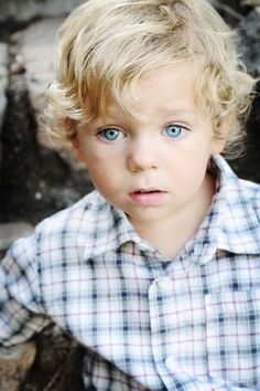 Blonde curls and baby blues  #futurelittle