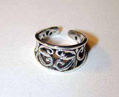 Sterling Silber Volkskunst Ohr Manschette  Kostenloser von artUwear