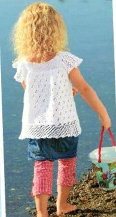 Blusa de verano para niñas