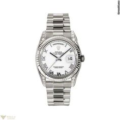 Rolex Oyster Perpetual Day-Date Mens Watch, 118339 wrp Model No. 118339 wrp