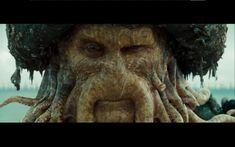 movies Pirates of the Caribbean Davy Jones / Wallpaper Flying Dutchman, Best Villains, Captain Jack Sparrow, Davy Jones, Pirate Life, Animal Wallpaper, Pirates Of The Caribbean, End Of The World, Johnny Depp