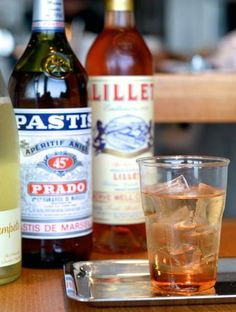 Lillet Spritzers from Trois Mec on Melrose