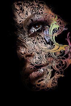 photo manipulation or digital art Artistic Fashion Photography, Art Photography, Portrait Art, Portraits, Lumiere Photo, Iranian Art, Arabic Art, Visionary Art, Calligraphy Art