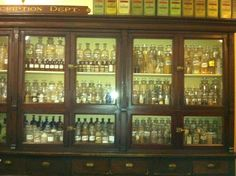 Love this old pharmacy feel! This is the old Kresge drug store in the streets of Old Detroit:  Detroit Historical Museum