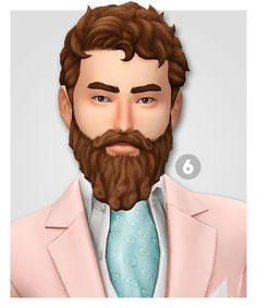 Sims 4 Mm, Sims Hair, The Sims 4 Download, Long Beards, Sims 4 Cc Finds, Sims 4 Clothing, The Sims4, Ts4 Cc, Sims 4 Custom Content