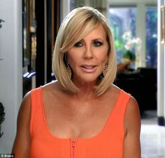 She's a believer: Vicki continued to insist that her boyfriend had cancer. Vicki Gunvalson, Fort Myers Beach, Chicago Restaurants, Real Housewives, About Hair, Orange County, Hair Inspo, Chicago Lake, Night Life
