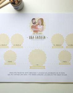 - Diario de embarazo LeBlue - Árbol geneálogico