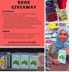 From @travelingprecils -  Yuk ikutan Book GIVEAWAY... IFTTT Tumblr