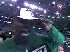 KG Freaks out after winning NBA Championship in 2008.