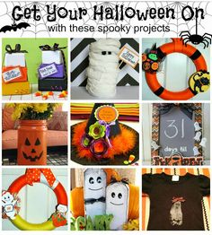 Roundup of some Spooky Halloween Inspiration.