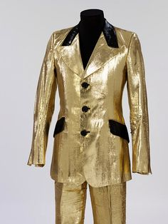 Marc Bolans gold suit made by Granny Takes a Trip.. not a movie costume, but what the hell! I can make an exception :)