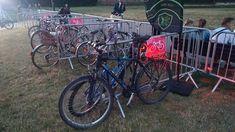 Jak ktoś się wybiera na innychbrzmienia to zapraszam rowerem. Dedykowany parking rowerowy. #innebrzmienia #lublin #rower