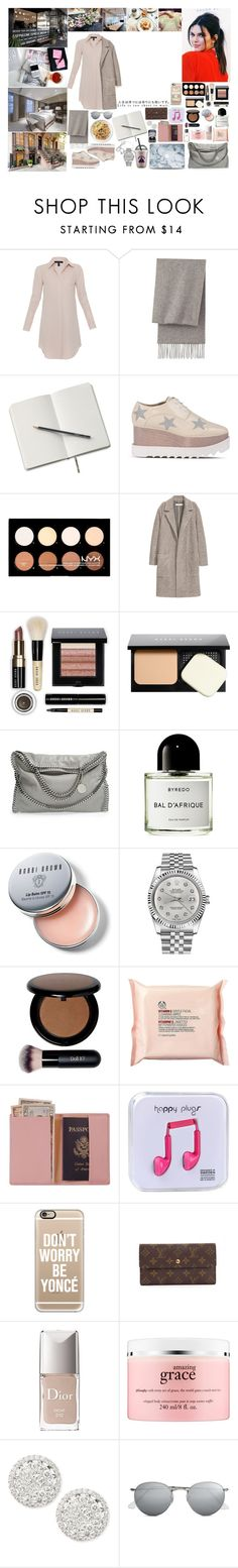 """""""Unbenannt #638"""" by isa1 ❤ liked on Polyvore featuring Avenue, American Eagle Outfitters, Xander, Uniqlo, STELLA McCARTNEY, NYX, Bobbi Brown Cosmetics, Byredo, Rolex and The Body Shop"""