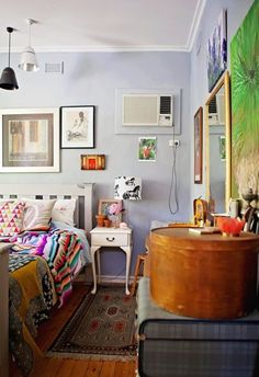 Helen's Eclectic Boho Haven ~Apartment Therapy