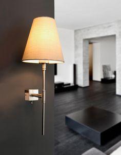 Lámpara de pared beige SABANA ambiente Luminaire Design, Beige, Vintage Lighting, Sconces, Wall Lights, Table Lamp, Home Decor, Environment, Wall Sconces